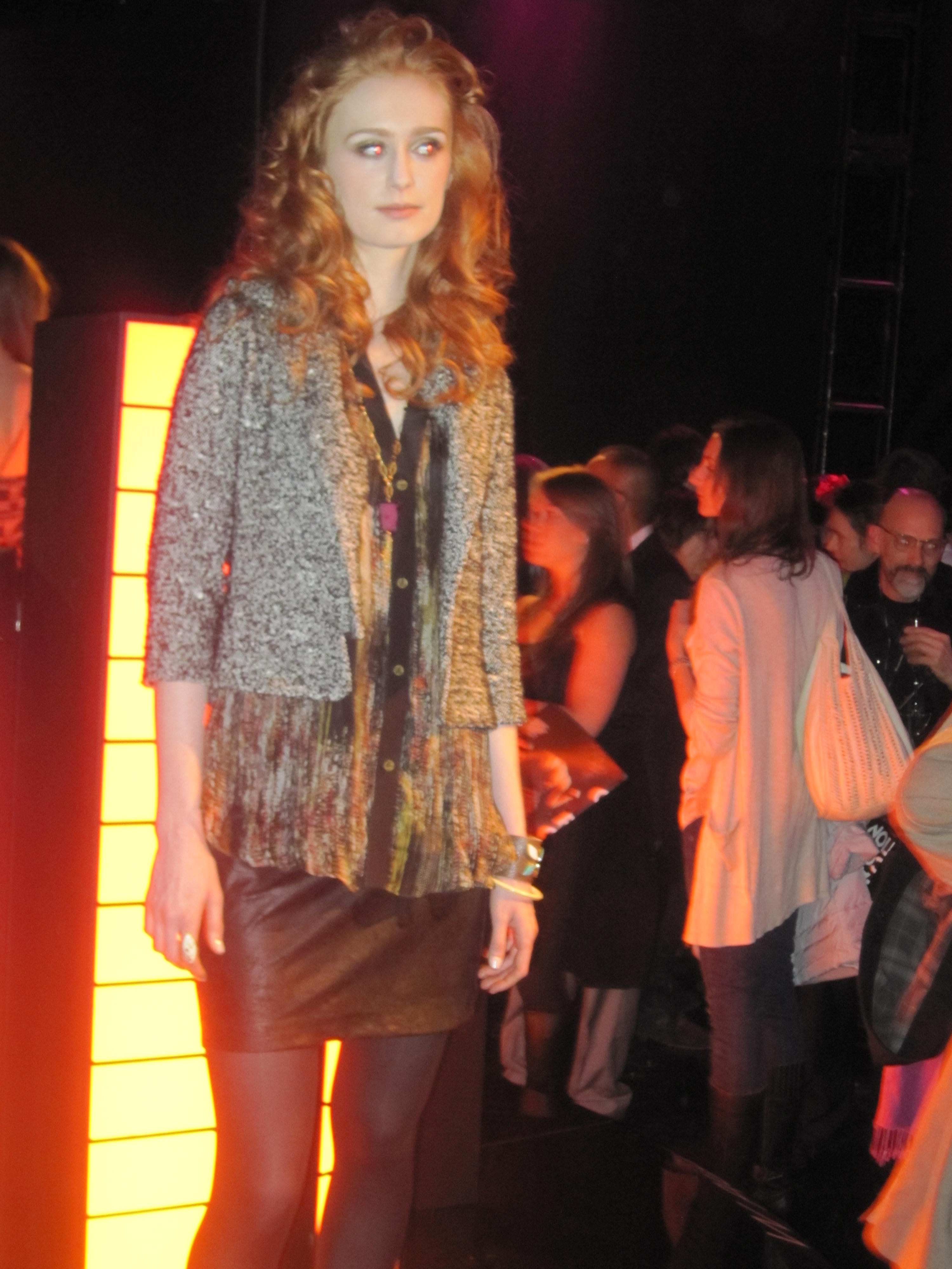 013 Flashback to NYC Fashion Week Spring 2011~ With Love necklace collection