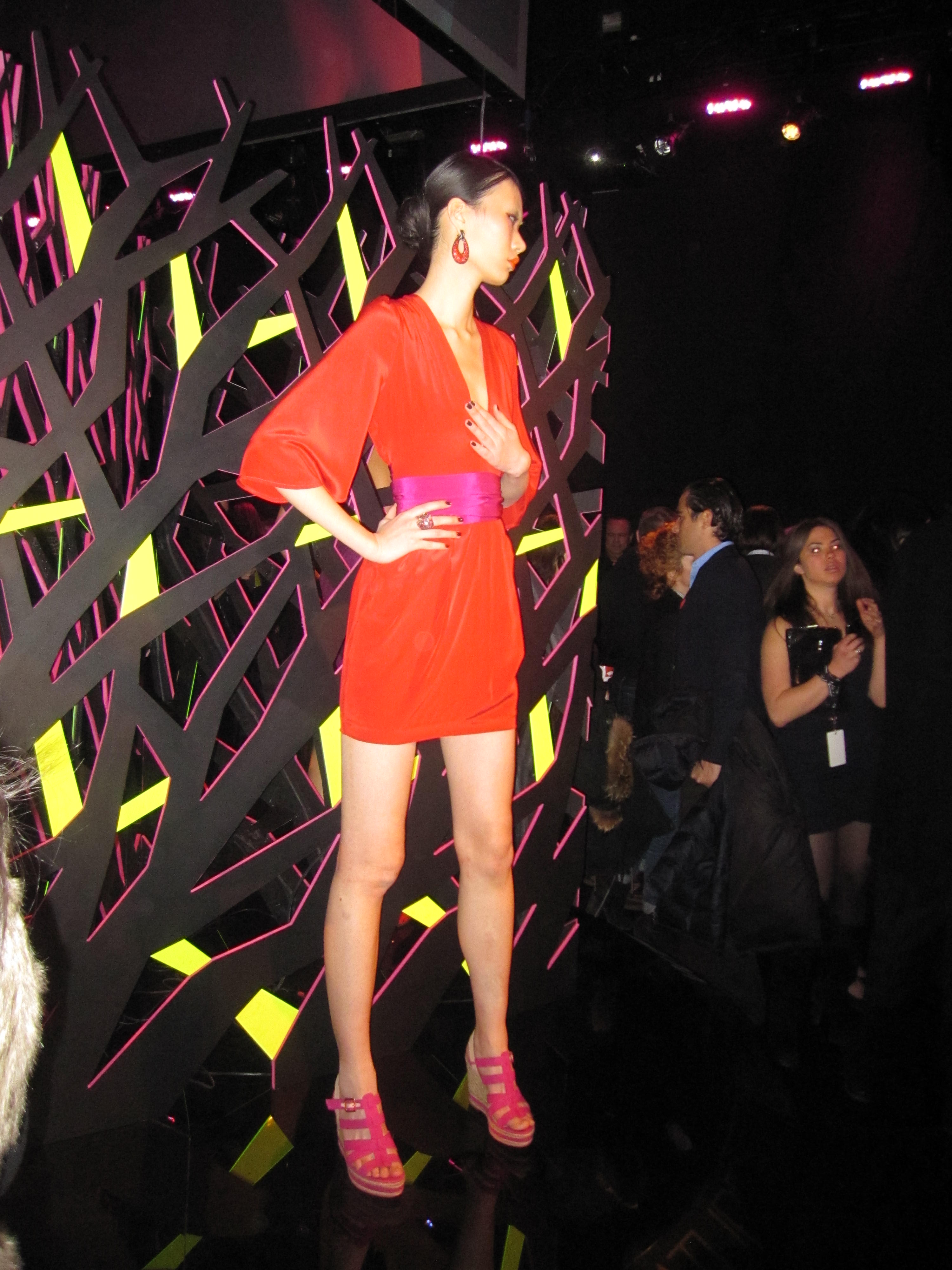 0191 Flashback to NYC Fashion Week Spring 2011~ With Love necklace collection