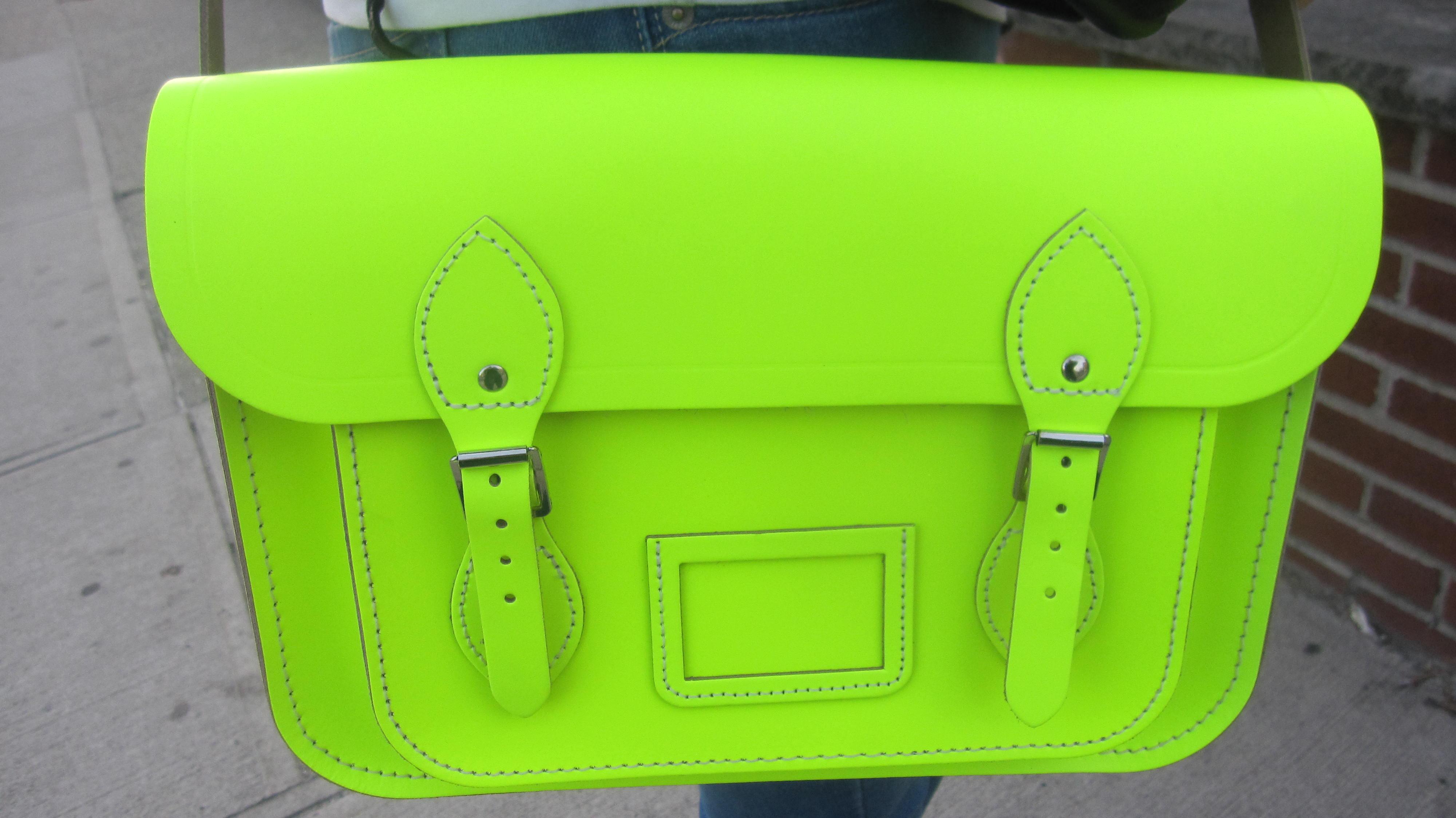 013 Balenciaga and neon yellow