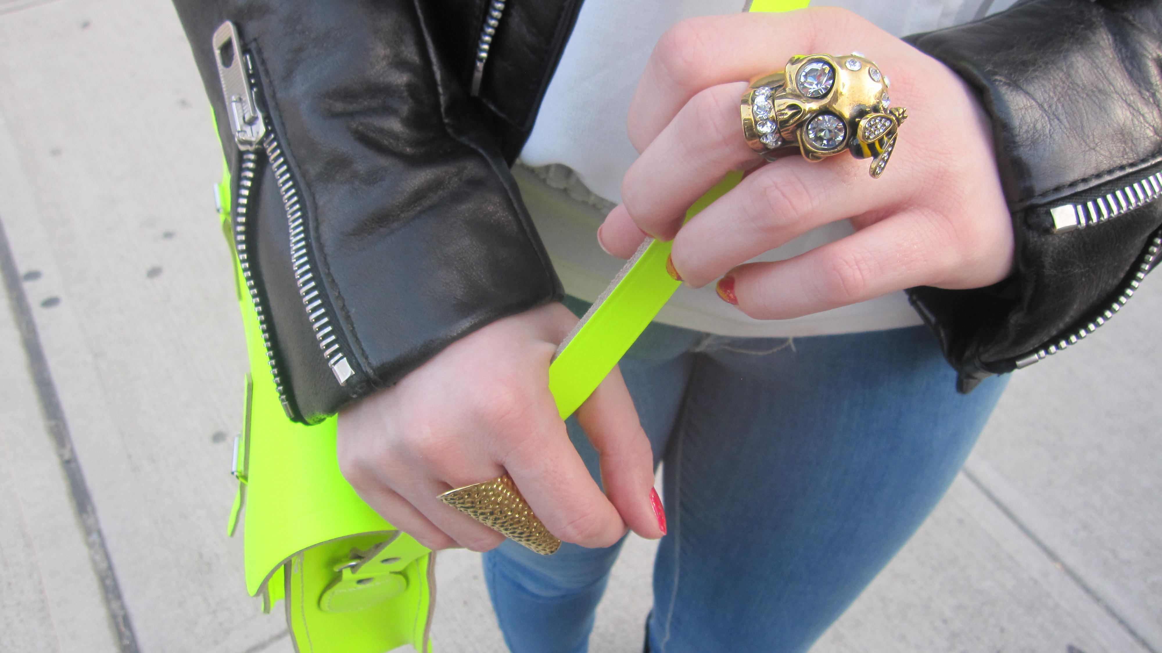 014 Balenciaga and neon yellow