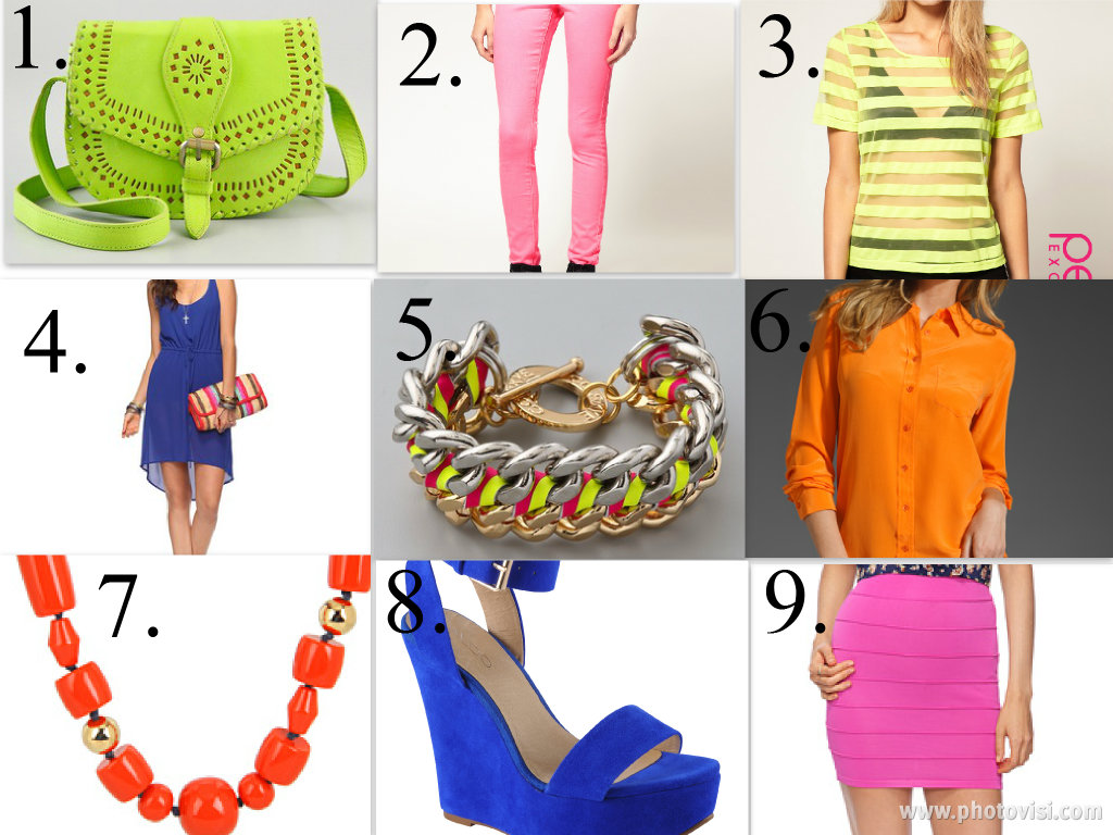 collage1 The Fashion Minxs picks for the best NEON deals online!!!