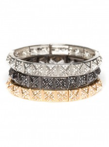 pyramid bangles 224x300 CURRENTLY CRAVING: ARM CANDY