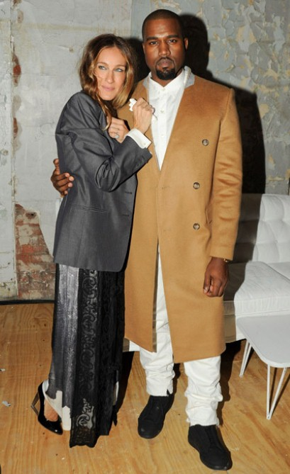 sarah jessica kanye Margiela For H&M Preview
