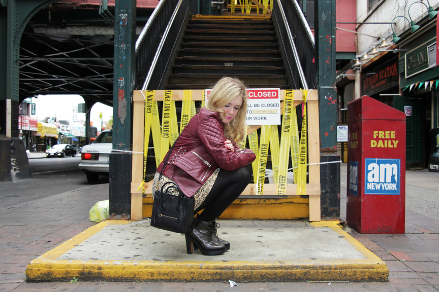 Julie crouching blog post Urban Jungle