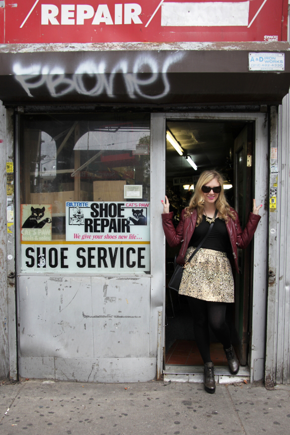 Julie shoe repair1 Urban Jungle