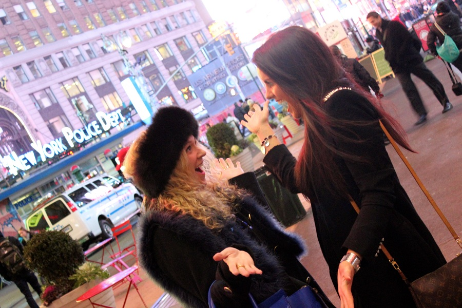 Julie nicola 83 The Fashion Minx and The Sequin Cinderella in NYC!!!
