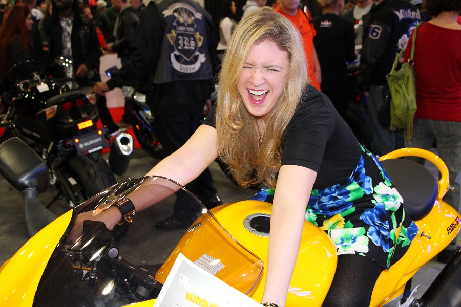 Javitz Center bike show- The Fashion Minx