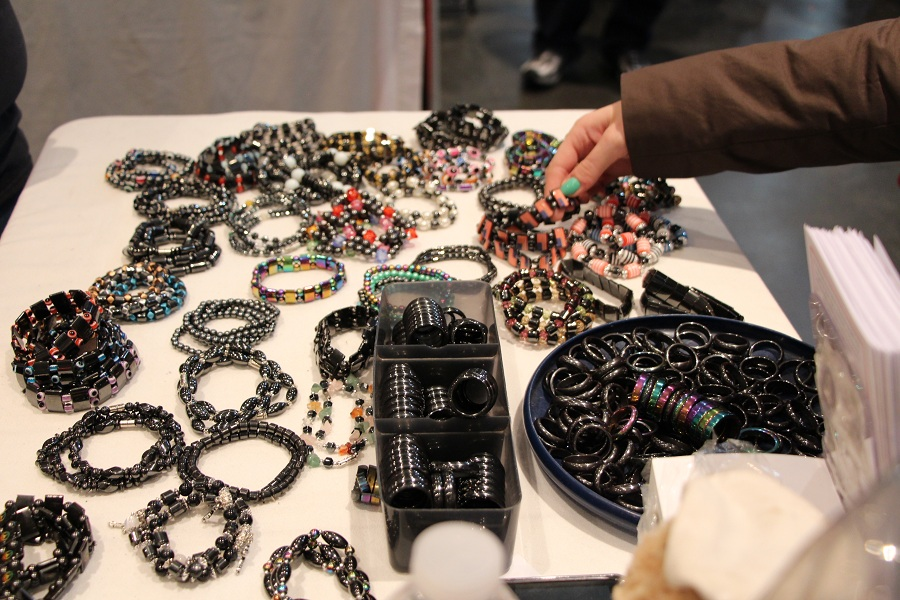 Jewelry at Bike show