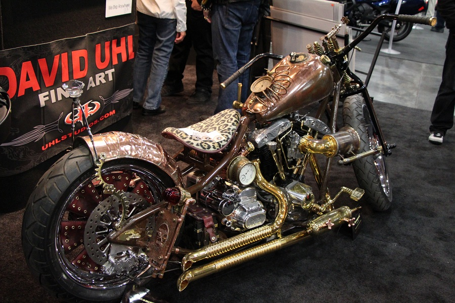 bike show leopard bike