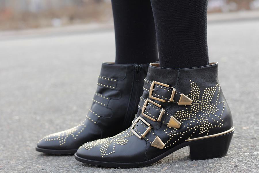 Chloe Susanna boots Asos Leopard Coat Giveaway!