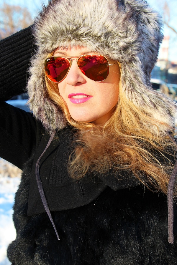 Julie nemo 10 Bright Snow Shiny Day!  (And winner of Asos coat giveaway announced!)