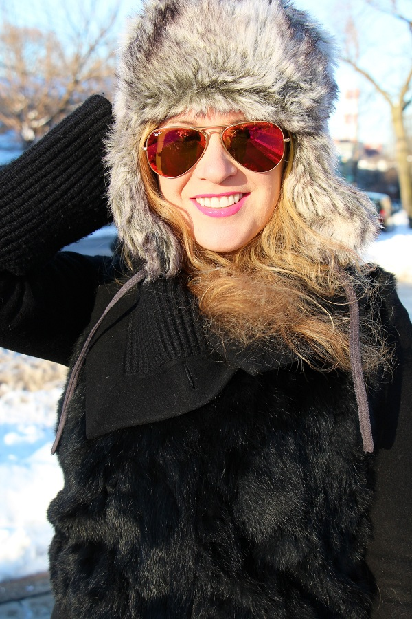 Julie nemo 11 Bright Snow Shiny Day!  (And winner of Asos coat giveaway announced!)
