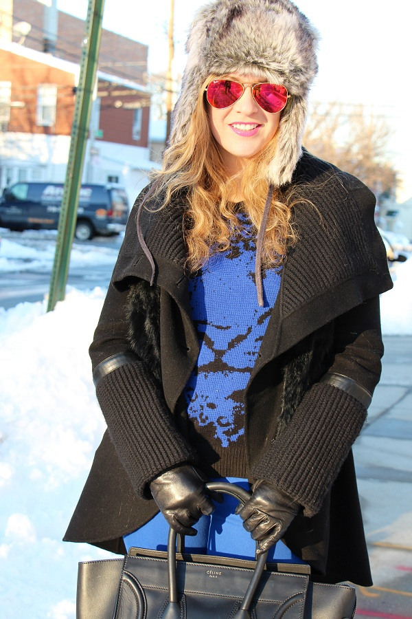 Julie nemo 12 Bright Snow Shiny Day!  (And winner of Asos coat giveaway announced!)