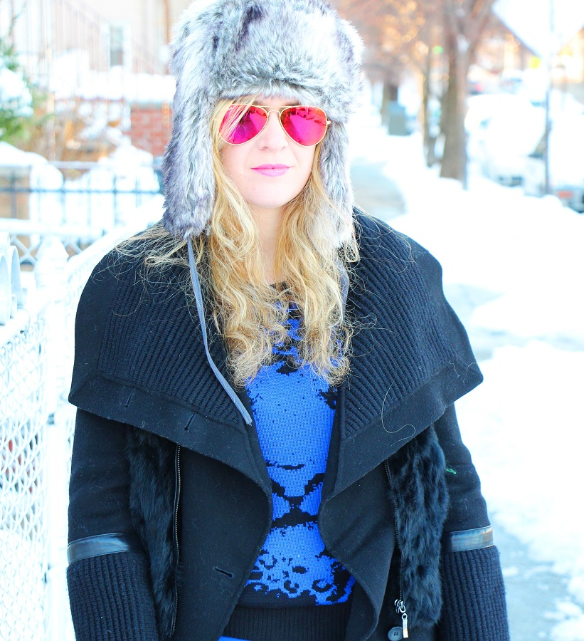 Julie nemo 15 Bright Snow Shiny Day!  (And winner of Asos coat giveaway announced!)