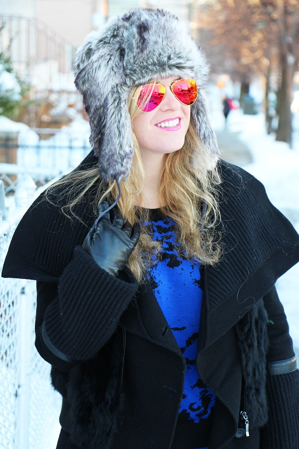 Julie nemo 16 Bright Snow Shiny Day!  (And winner of Asos coat giveaway announced!)