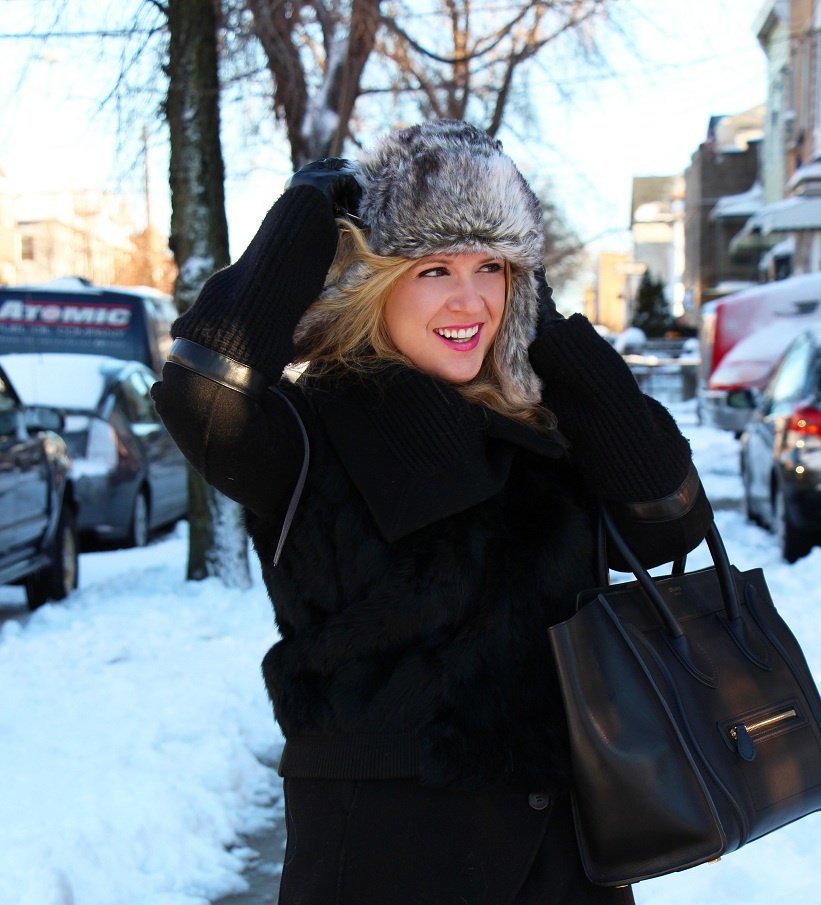 Julie nemo 3 Bright Snow Shiny Day!  (And winner of Asos coat giveaway announced!)