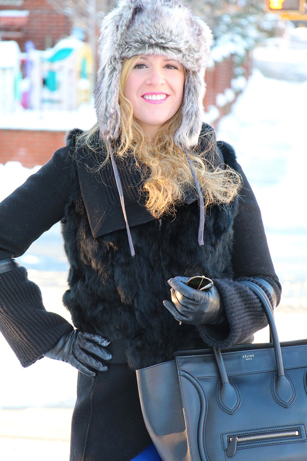 Julie nemo 5 Bright Snow Shiny Day!  (And winner of Asos coat giveaway announced!)
