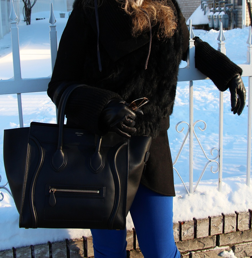 Julie nemo 6 Bright Snow Shiny Day!  (And winner of Asos coat giveaway announced!)