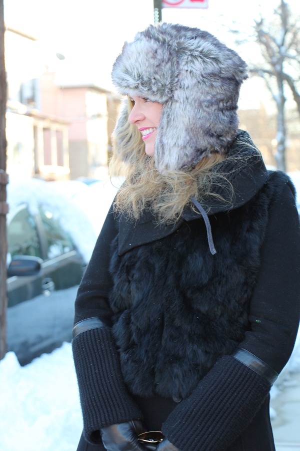 Julie nemo 7 Bright Snow Shiny Day!  (And winner of Asos coat giveaway announced!)