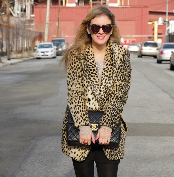 julie leopard coat 15 Asos Leopard Coat Giveaway!
