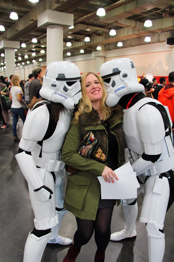 Julie comic con edited 9 resized Super Fashion with Super Heroes  NYC Comic Con 2013