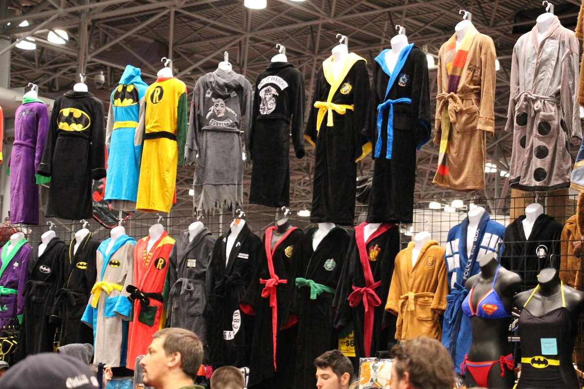 robes Super Fashion with Super Heroes  NYC Comic Con 2013