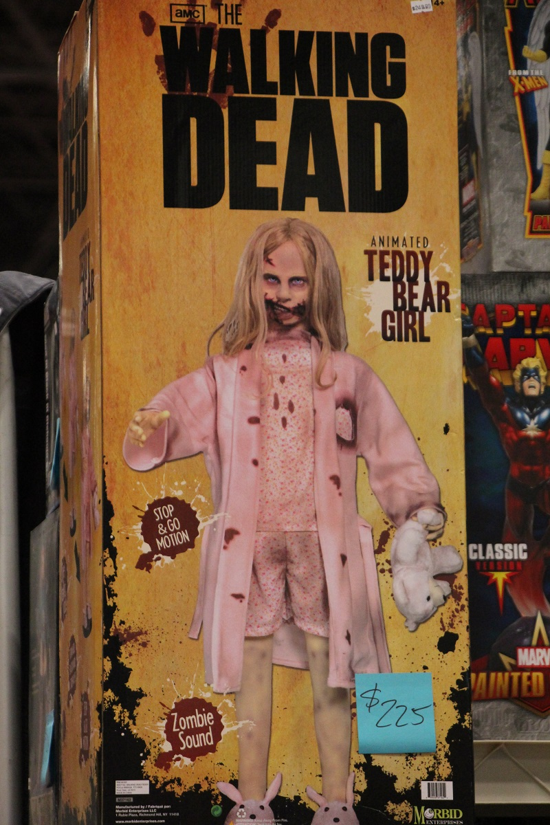 walking dead doll Super Fashion with Super Heroes  NYC Comic Con 2013