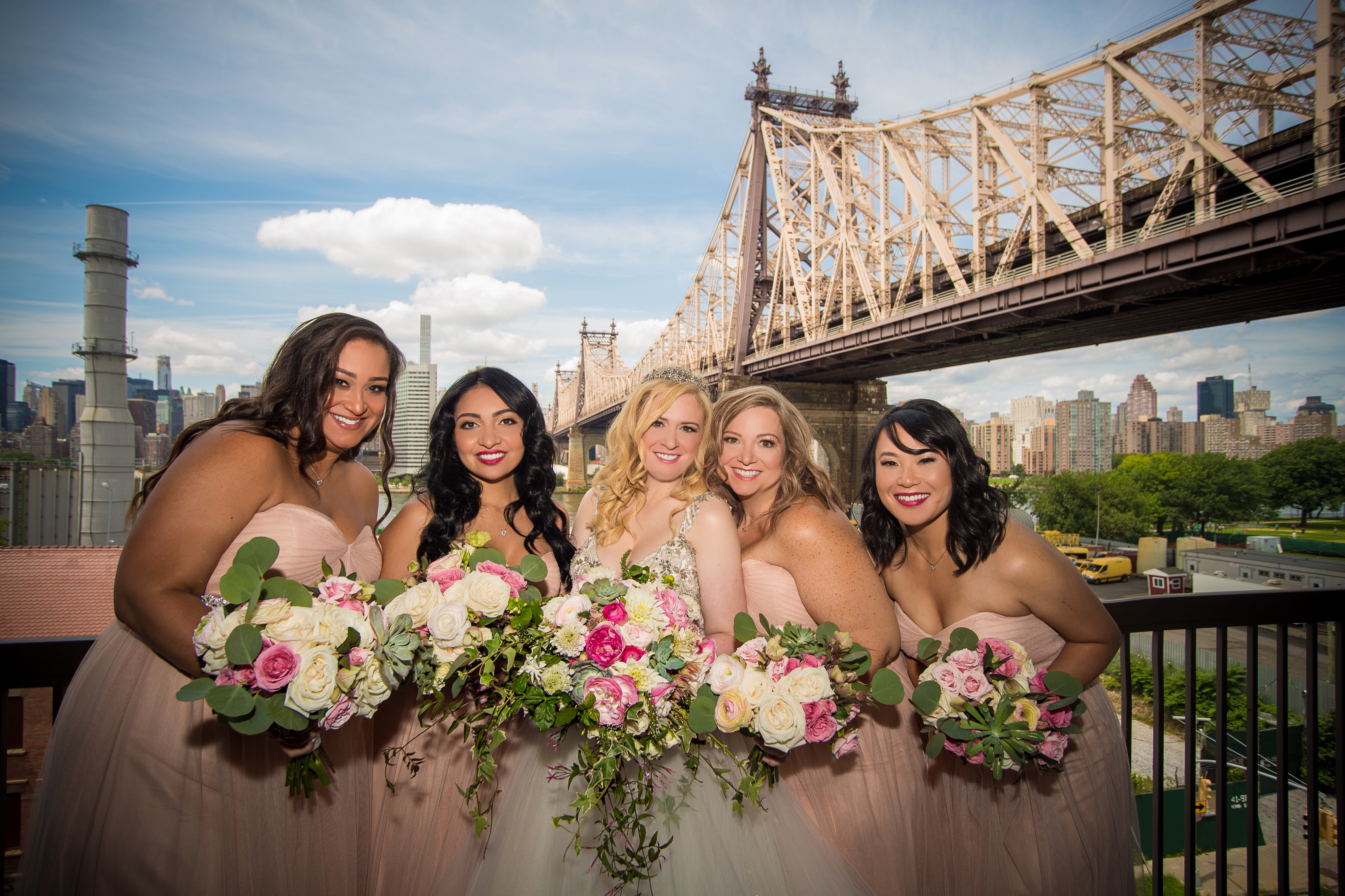 Bridal Party balcony Our Magical Wedding  Part One (Getting ready with your bridal party,  plus hotel room must haves!)