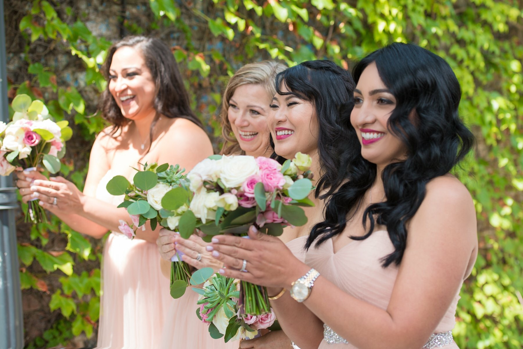 girls laughing  Our Magical Wedding Part Two  Guest post by Yokairy Tavarez
