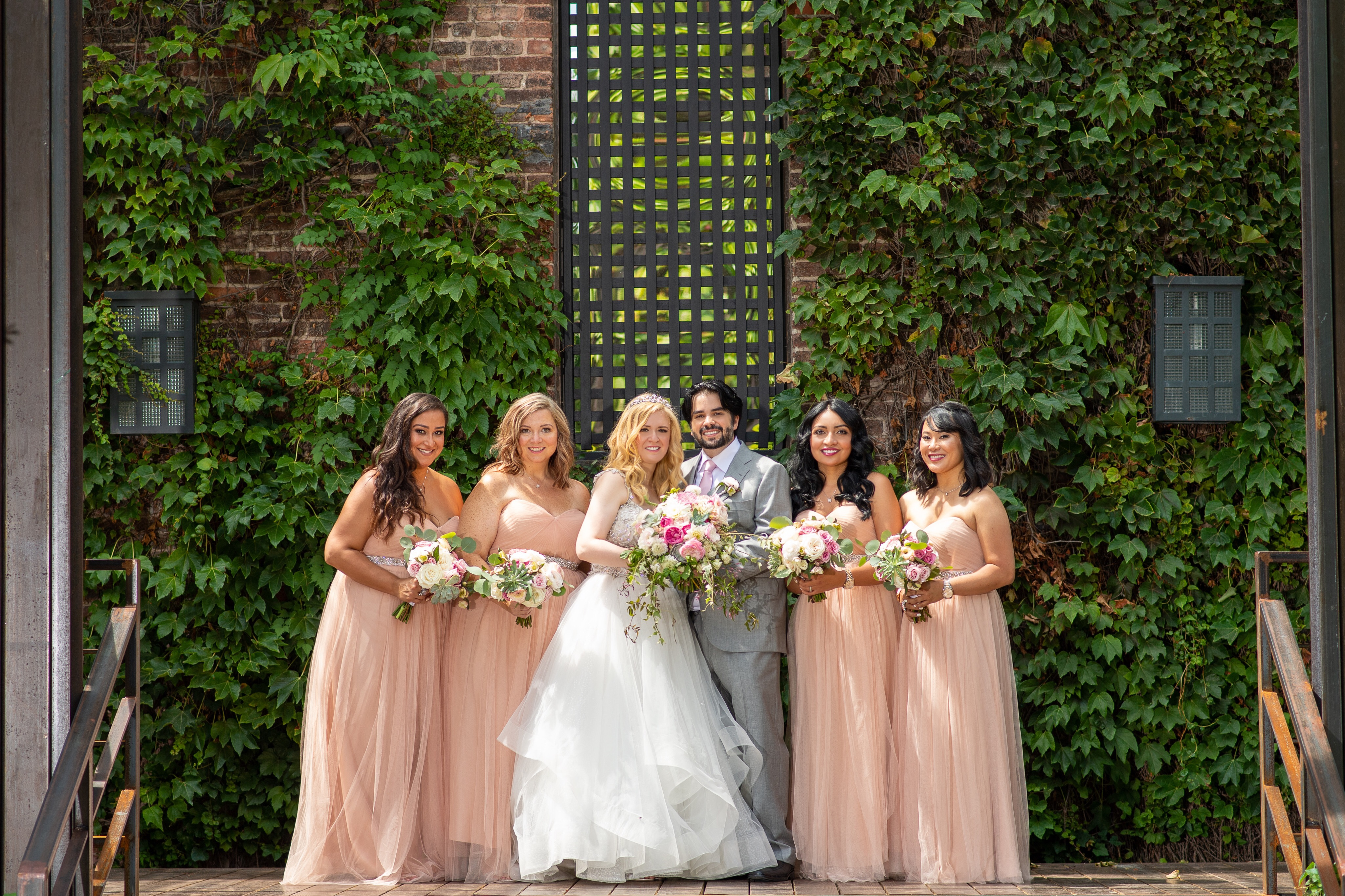 girls with chris Our Magical Wedding Part Two  Guest post by Yokairy Tavarez